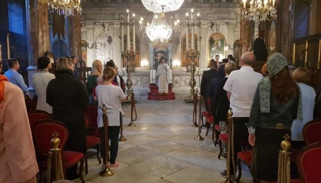У Стамбулі відбулася літургія з нагоди Покрови та Дня захисника України