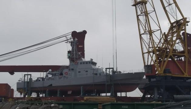 Deux patrouilleurs Island sont arrivés dans le port d'Odessa