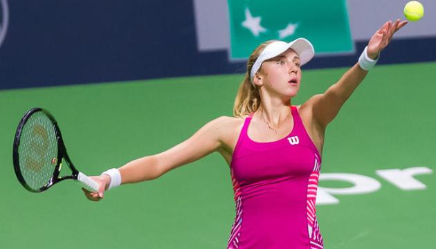 Людмила Кіченок виграла перший парний матч на турнірі WTA Elite Trophy