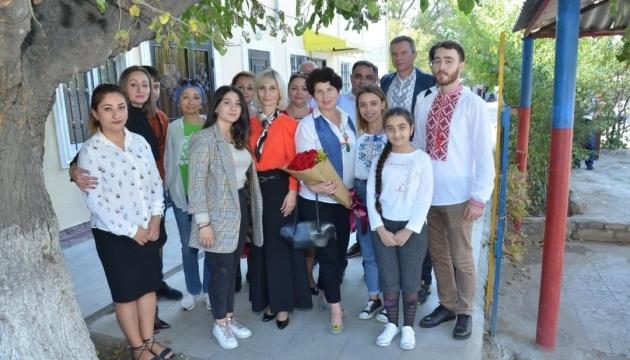 Посол Каневський відвідав український культурний центр і недільну школу в Сумгаїті