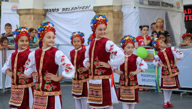 У Мармарисі пройшов український дитячий фестиваль