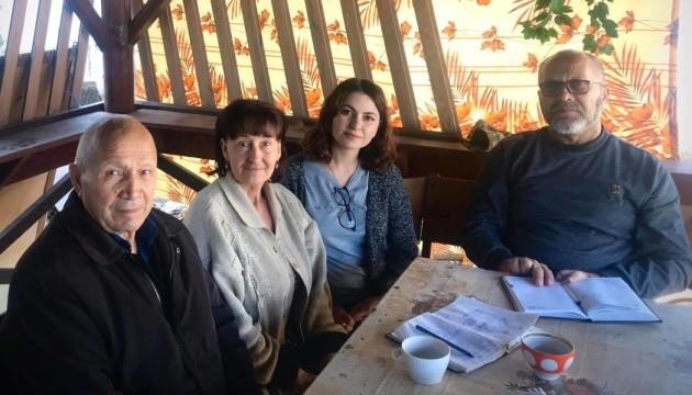 Крымские активисты посетили семью арестованного Приходько