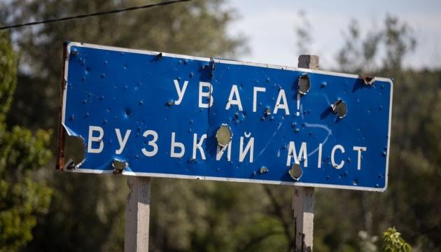 ОБСЕ: у обходного моста в Станице появились боевики с повязками СЦКК
