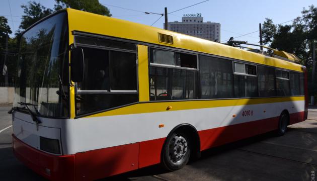 На городском маршруте Одессы начал работать первый электробус