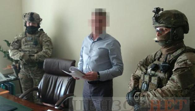 SBU detains ex-deputy economy minister on suspicion of high treason