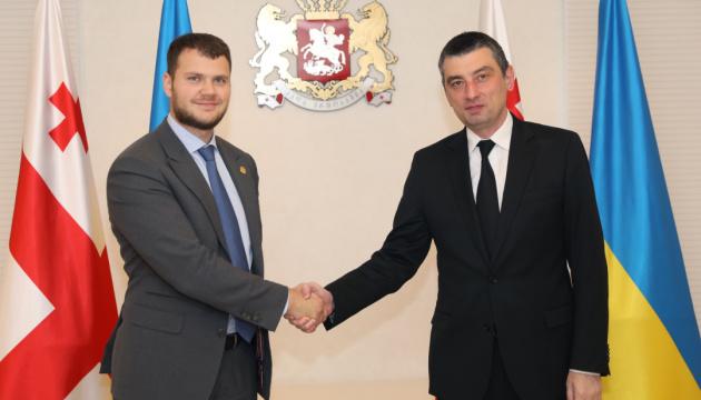 Krykliy: Ucrania interesada en la experiencia de Georgia en formas de sacar la economía de la sombra