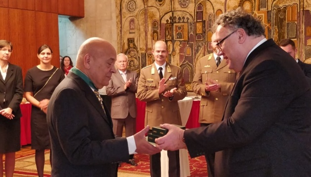 Москаля нагородили угорським хрестом