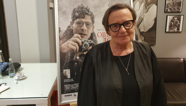 Agnieszka Holland: Ukraine has potential for filmmaking