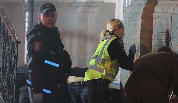 À Kyiv, l'explosion d'une grenade fait deux morts