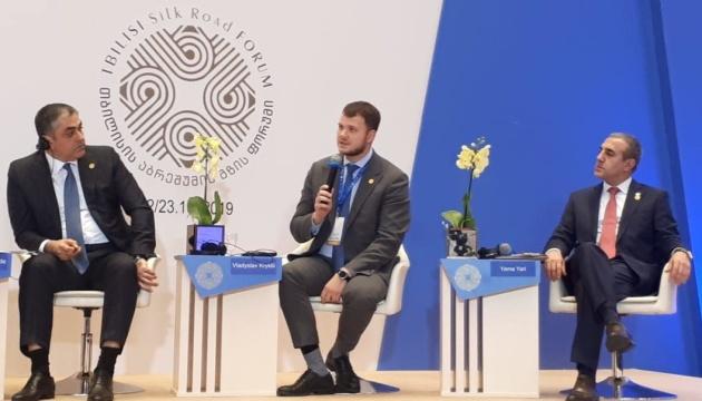 Криклій сподівається на перші перевезення водним транспортом з Білорусі у 2020 році