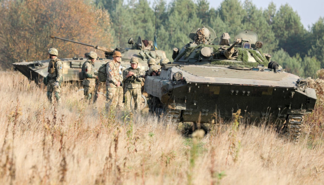 Russian-led troops launch 13 attacks on Ukrainian troops in Donbas