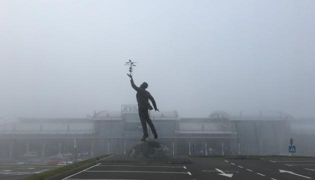 Tres vuelos cancelados y 21 retrasados en el aeropuerto de Kyiv