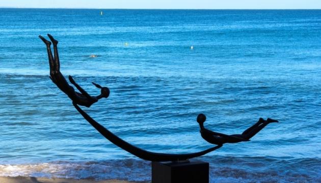Українське мистецтво уперше представлене у Сіднеї на одній з найбільших виставок скульптур