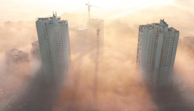Киев второй день подряд в ТОП-20 мегаполисов с самым грязным воздухом