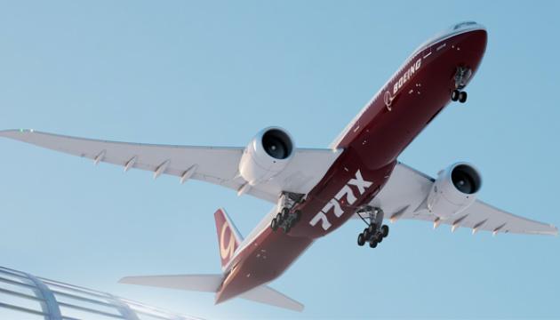 Boeing заявляє про проблеми з двигуном у новій моделі 777X