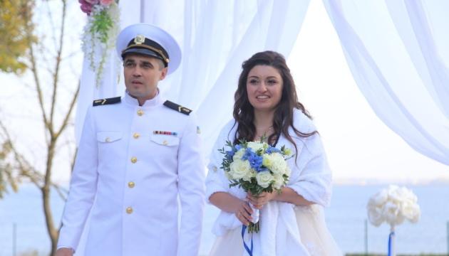 Freigelassener Marinesoldat Bespaltschenko feierte am Wochenende Hochzeit