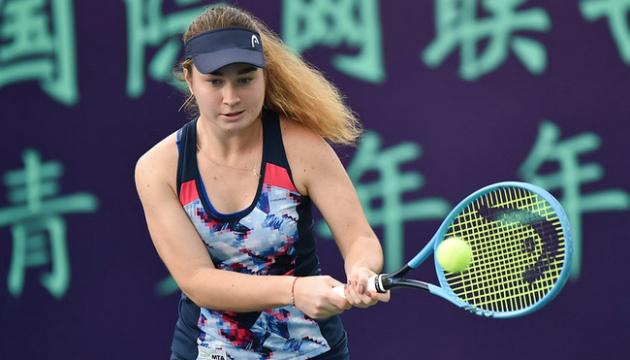 Снигур уступила в финале Итогового турнира ITF Junior Finals