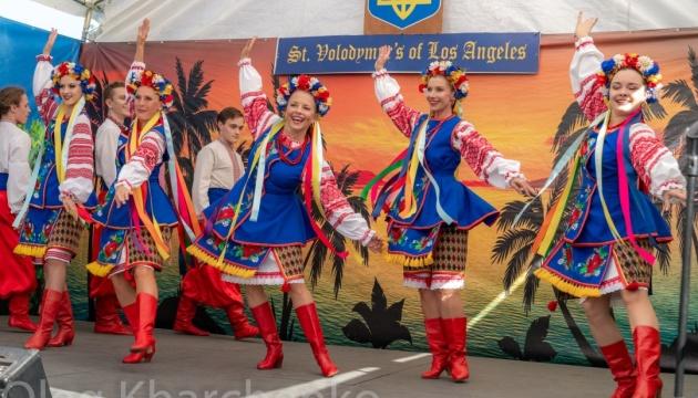 Закриття українського сезону: у Лос-Анджелесі пройшов щорічний український фестиваль