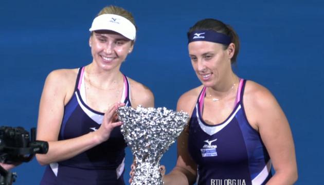 Людмила Кіченок виграла підсумковий турнір WTA Elite Trophy у парному розряді