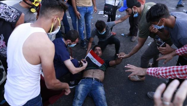 В Ираке застрелили семерых протестующих