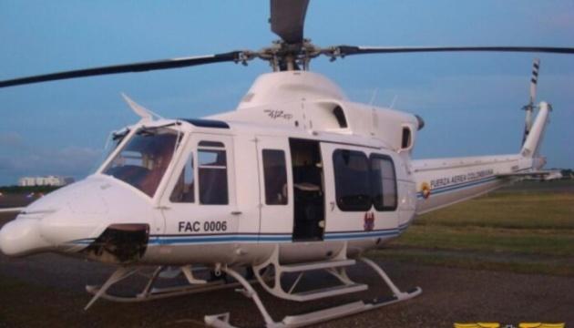 У Колумбії розбився вертоліт президентського кортежу, шестеро загиблих