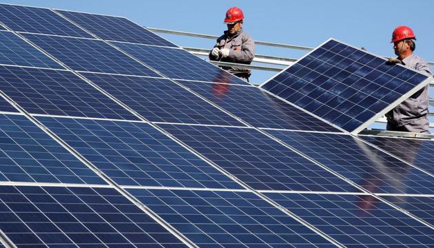 Найпотужніші сонячні електростанції України. Інфографіка
