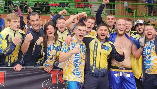 Збірна України завоювала 9 медалей на ЧС з кікбоксингу WAKO