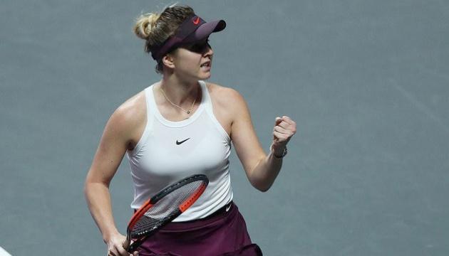 Свитолина и Плишкова провели самый длинный тайбрейк в истории WTA Finals