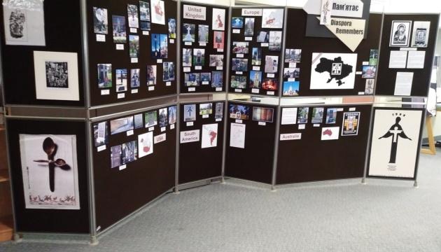 На виставці у Торонто демонструють пам'ятники, якими вшанували жертв Голодомору у світі