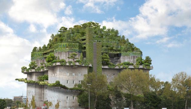 У Гамбурзі колишній нацистський бункер перетворять на готель-сад