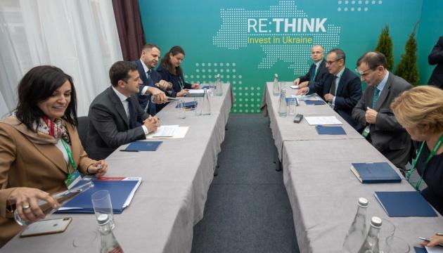 Зеленський і віцепрезидент ЄБРР обговорили умови інвестицій в Україну