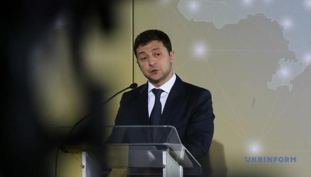 Зеленський закликає підходити до реінтеграції окупованих Криму і Донбасу без ілюзій