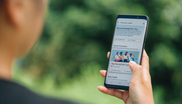 Facebook запускає інструмент для тих, хто піклується про здоров'я