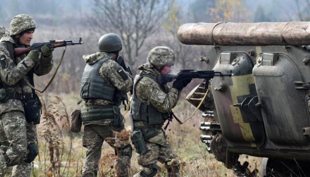 Оккупанты трижды обстреляли украинские позиции на Донбассе