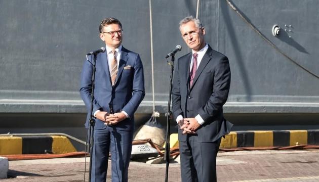 Stoltenberg cite trois formes de coopération avec l'Ukraine
