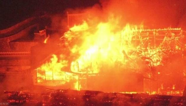 В Японії пожежа знищила 500-річний замок зі спадщини ЮНЕСКО