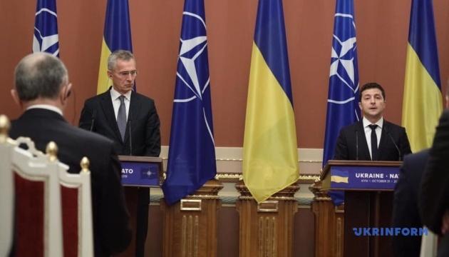 Україна готова прискорити підготовку до членства в НАТО - Президент