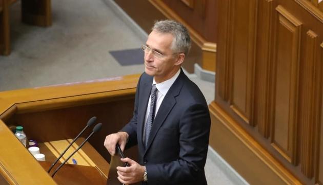 Jens Stoltenberg prononcera un discours à la Verkhovna Rada