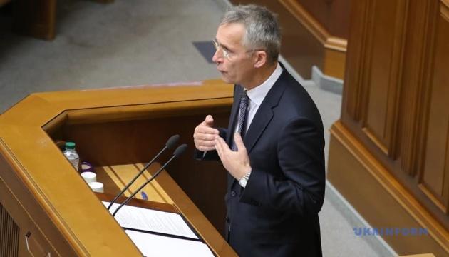 Столтенберг очікує, що в Україні запрацює закон про нацбезпеку
