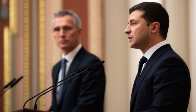 Zelensky to Stoltenberg: Our immediate goal is MAP