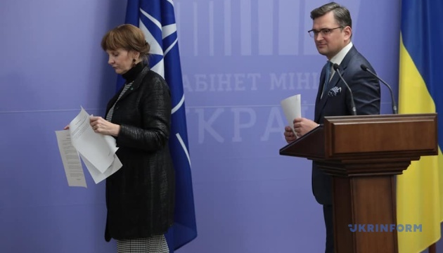 Ukraine plans to continue cooperation with NATO in five areas