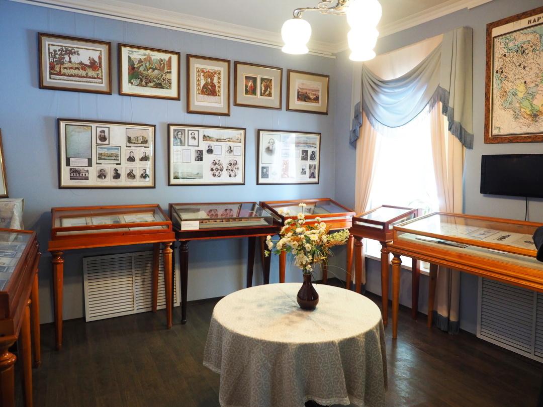 московский дом-музей В.И.Даля на Пресне, гостинная