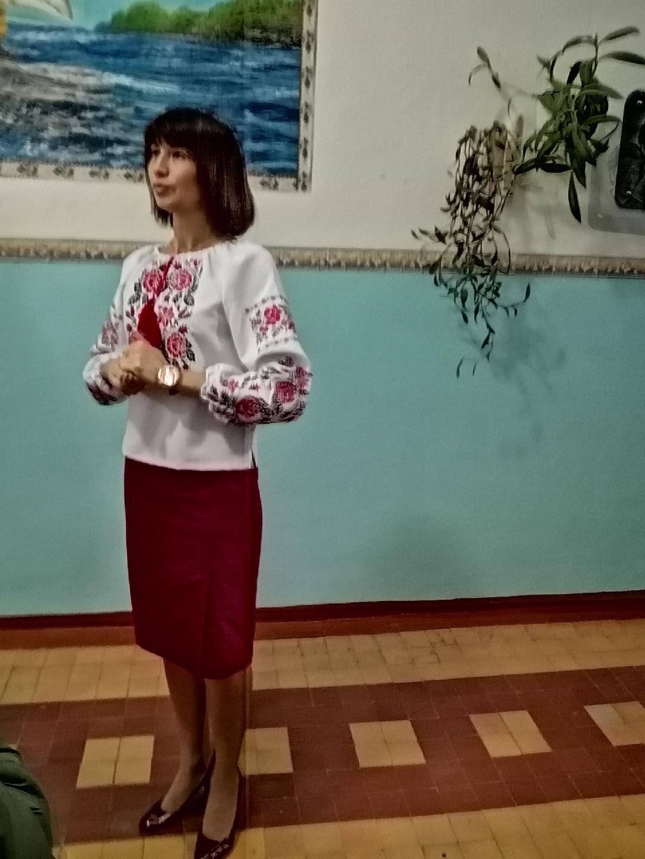 Директор школи Ольга Сосова