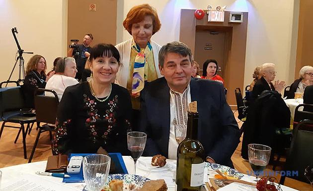 Олександр Мацука з дружиною Лесею
