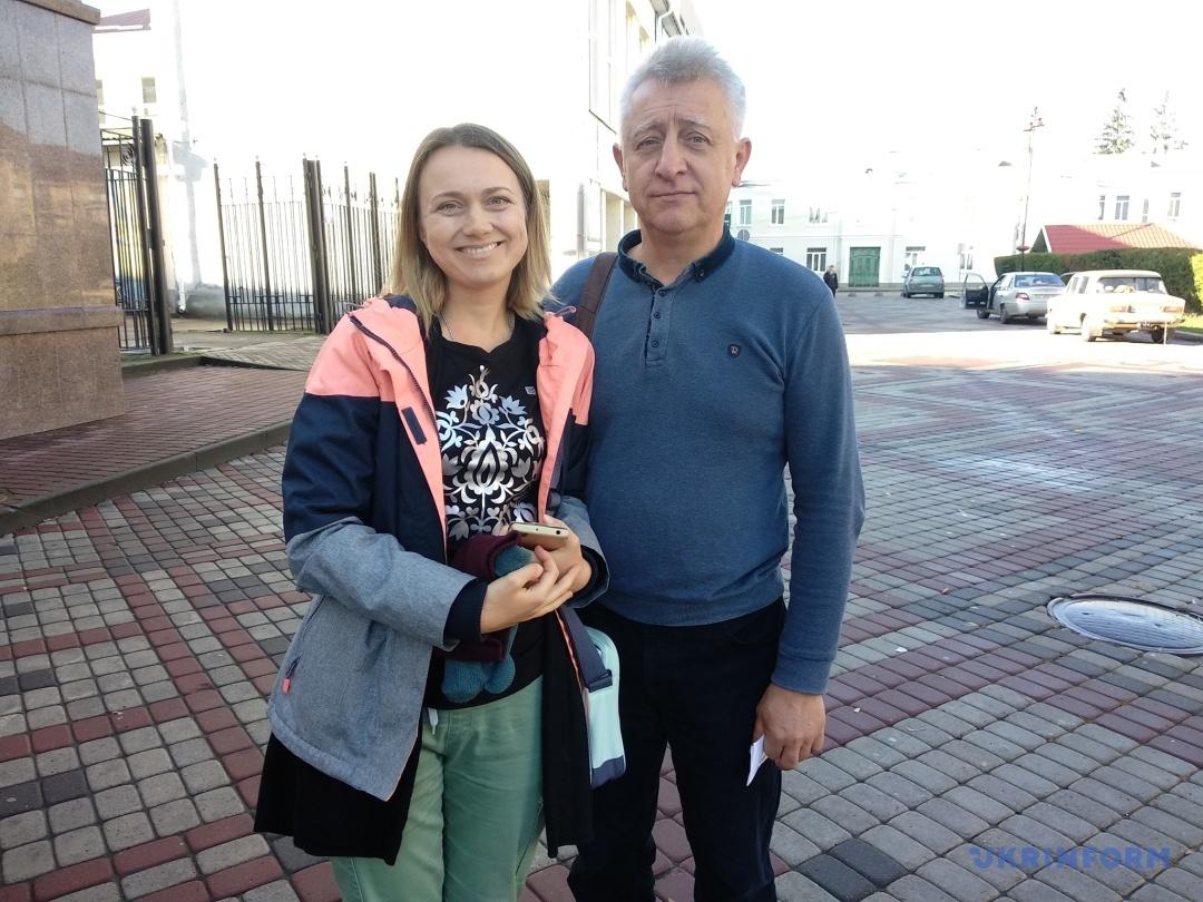Юлія Качула та Сергій Сівак
