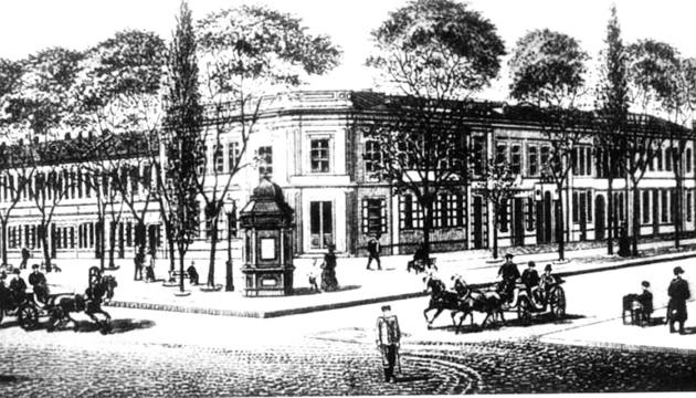 Здание Ришельевского лицея, на Дерибасовской, 16 А