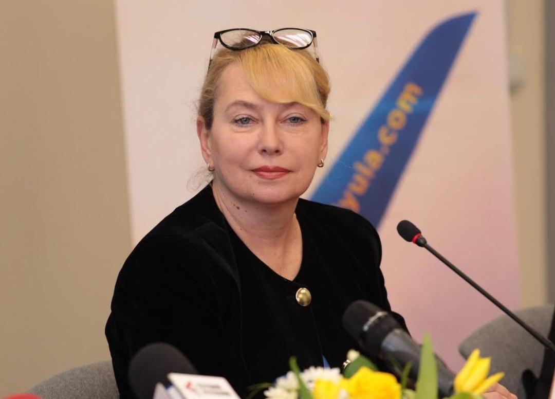 прес-секретар МАУ Євгенія Сацька
