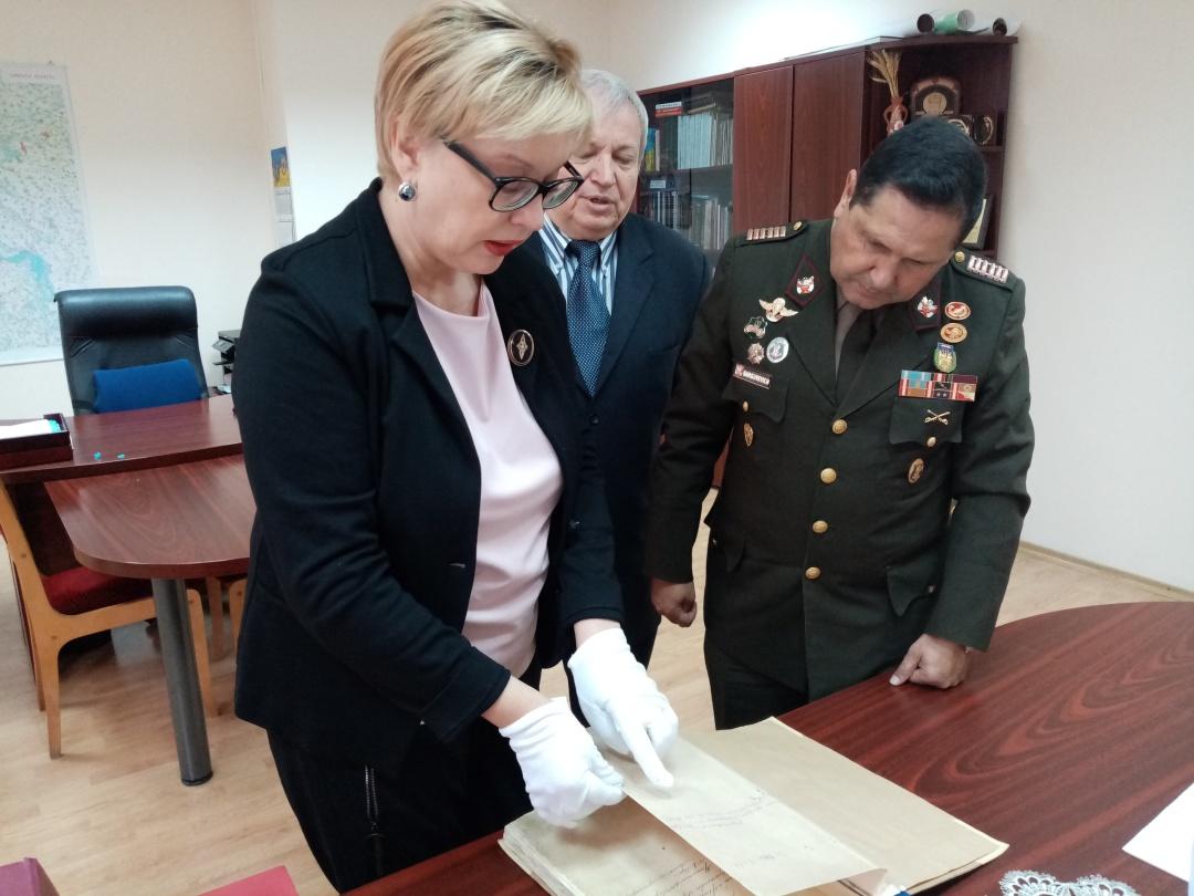 Полковник з Перу в архіві Київської області
