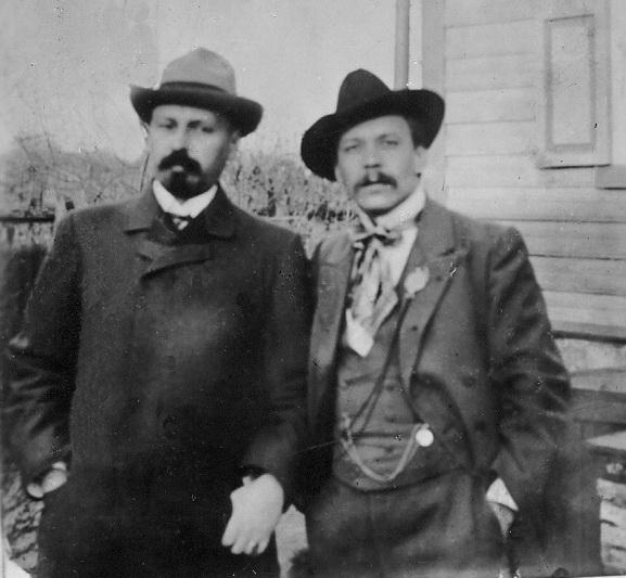 Микола Вороний і Михайло Коцюбинський