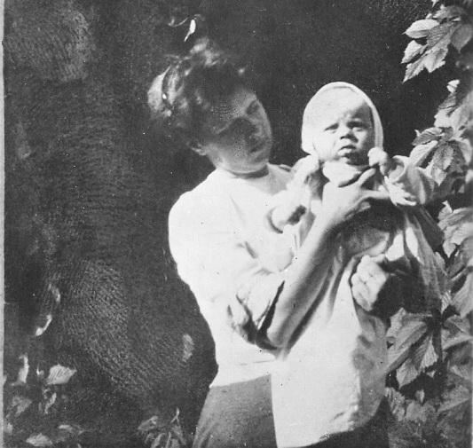 Віра Миколаївна Вербицька з сином Марком